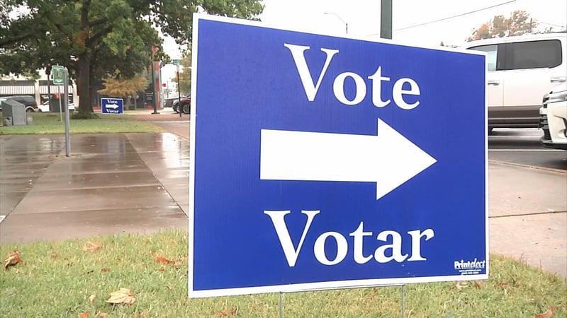 It's Election Day across Texas. (KTEN)