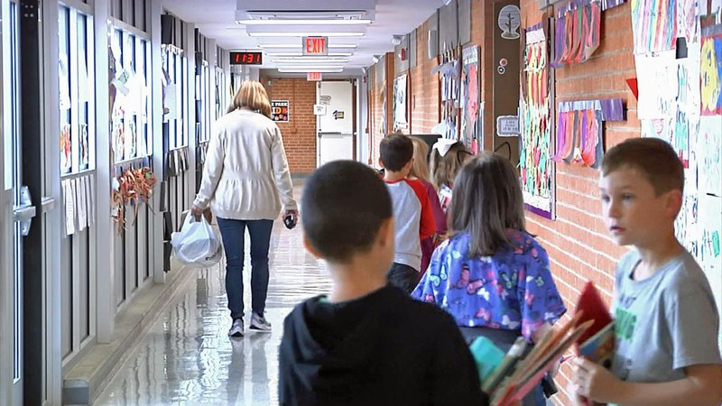 Relief is on the way for two crowded Denison elementary schools. (KTEN)