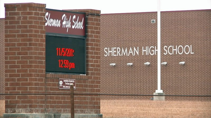 Sherman High School. (KTEN)