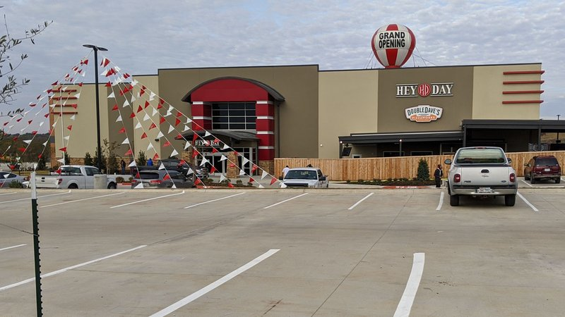 HeyDay Entertainment opened in Denison on November 8, 2019. (KTEN)