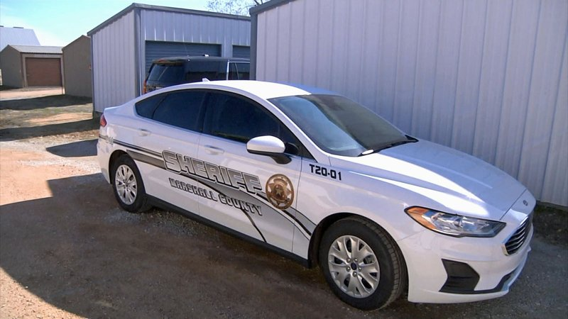 This vehicle will be used to transport inmates by Marshall County deputies. (KTEN)