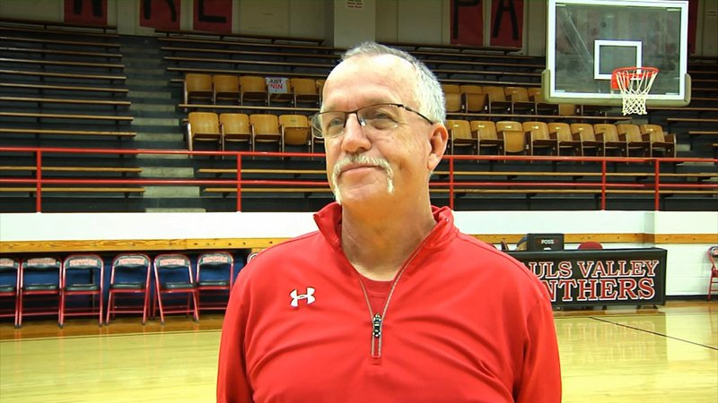 Pauls Valley basketball Coach Gary Chaffin talks about upgrades to the gym. (KTEN)