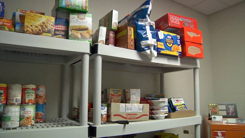 Ada Homeless Services welcomes donations to its food bank. (KTEN)