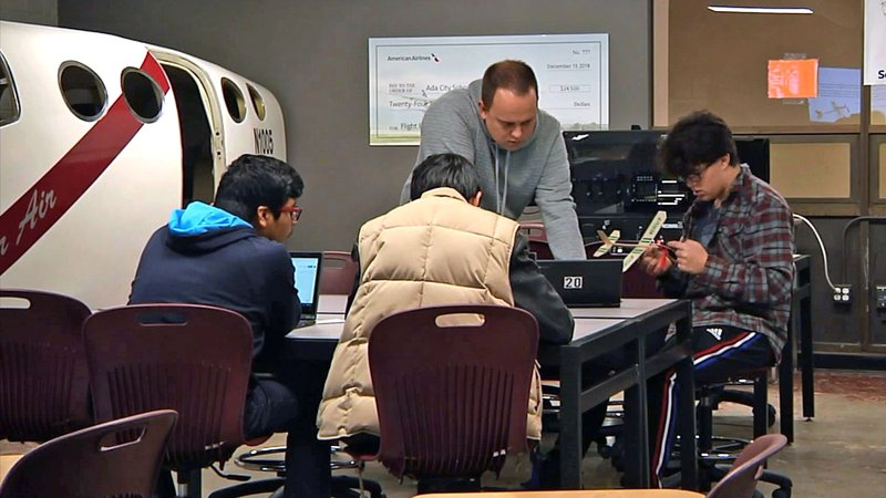 The aviation program at Ada Public Schools focuses on all ages. (KTEN)