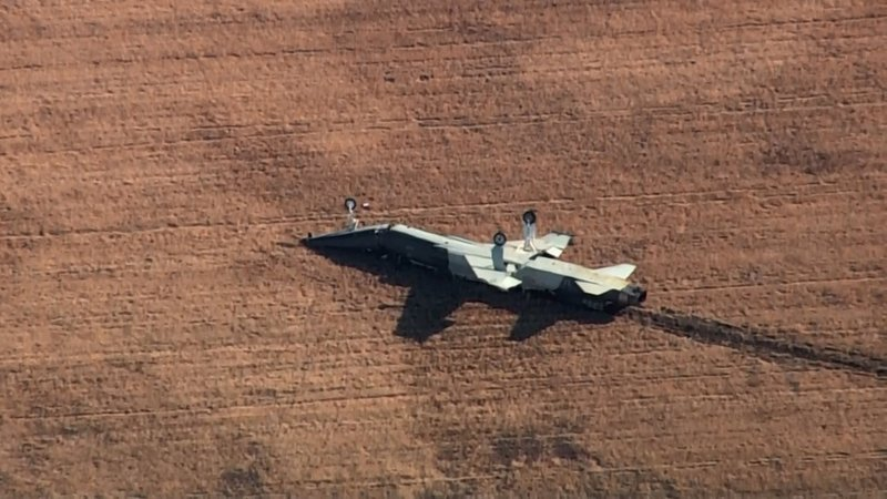 Two pilots were killed when their training aircraft crashed at Vance AFB in Oklahoma on November 21, 2019. (KOCO via CNN)