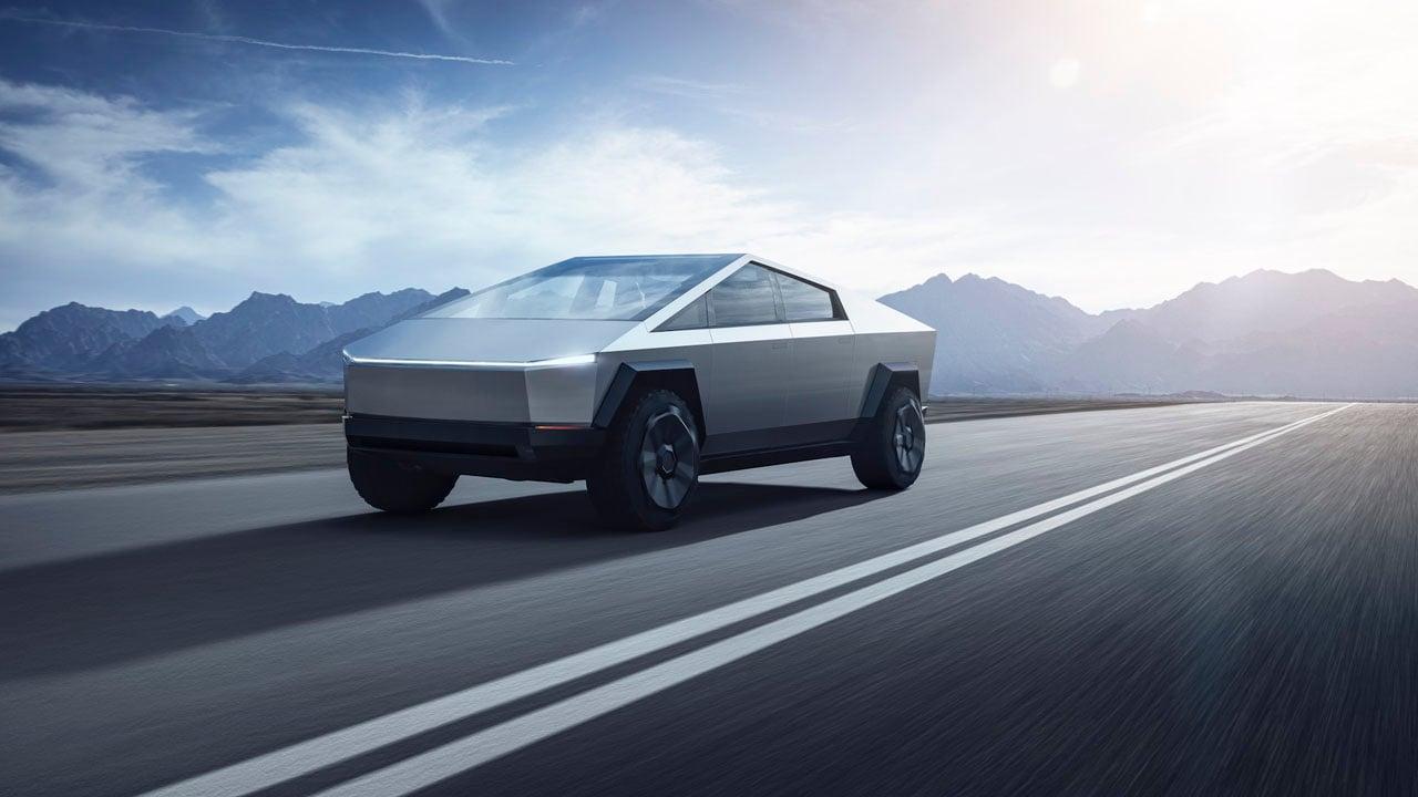 Tesla says its Cybertruck has sports car performance. (Tesla)