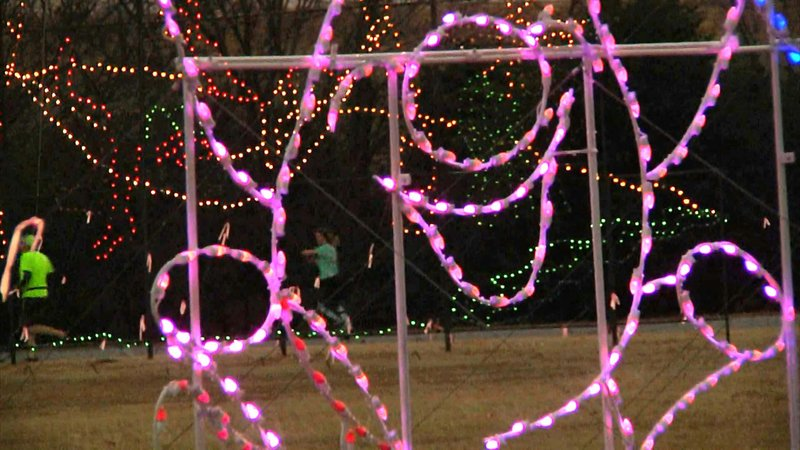 Ardmore's Festival of Lights continues through December 30. (KTEN)