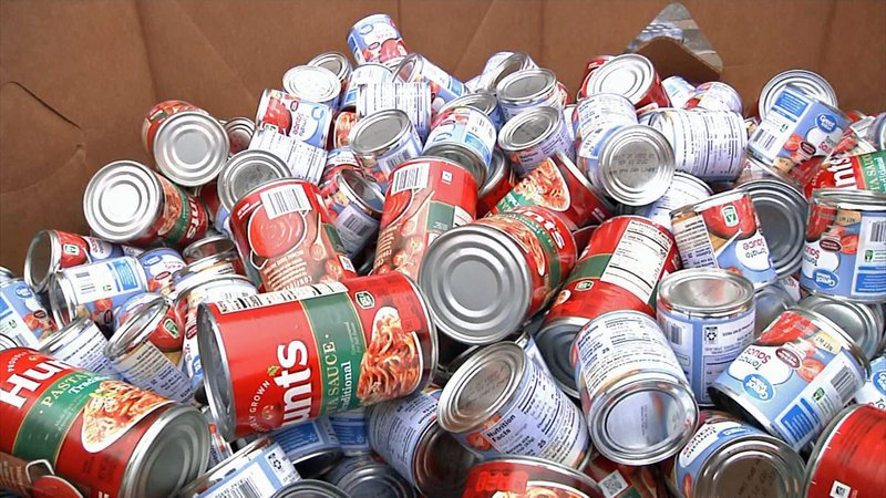 The Bob Skaggs Food Drive will supply the Salvation Army's pantry for months to come. (KTEN)