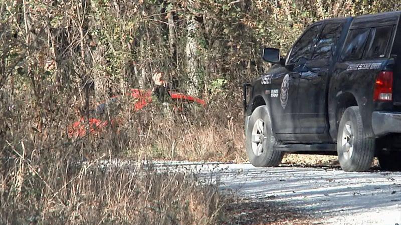 John Self was found dead in a red car on a rural road in Bryan County on November 14, 2019. (KTEN)