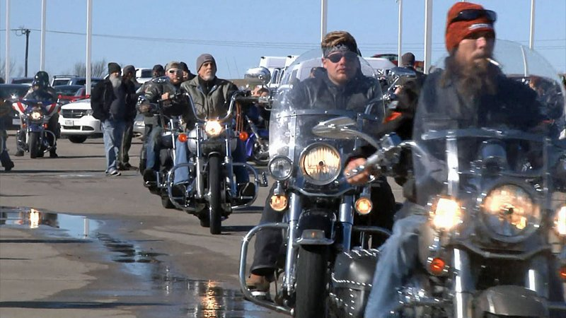 The 25th annual For the Kids Toy Run attracted motorcycle riders from across Texoma. (KTEN)