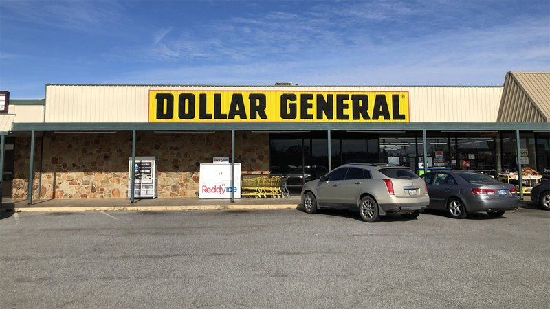 This Dollar General store in Sherman was the target of an armed holdup man on December 3, 2019. (KTEN)