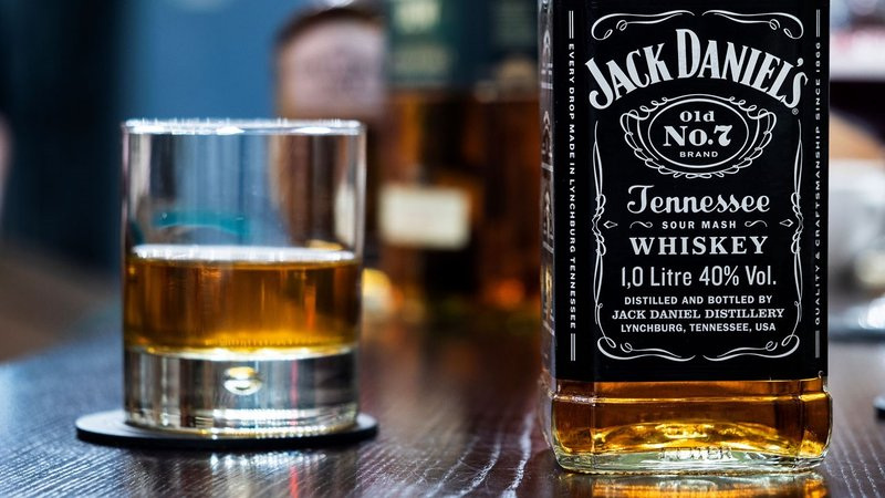 """Jack Daniels' owner Brown-Forman expects another year of """"solid results."""" (Igor Golovniov/SOPA Images/LightRocket via Getty Images)"""