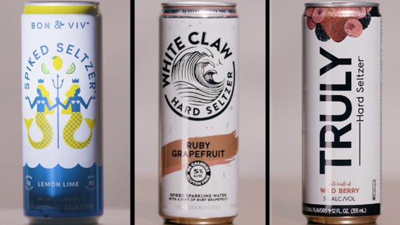 """""""Spiked seltzer"""" products are exploding in growth. (CNN)"""