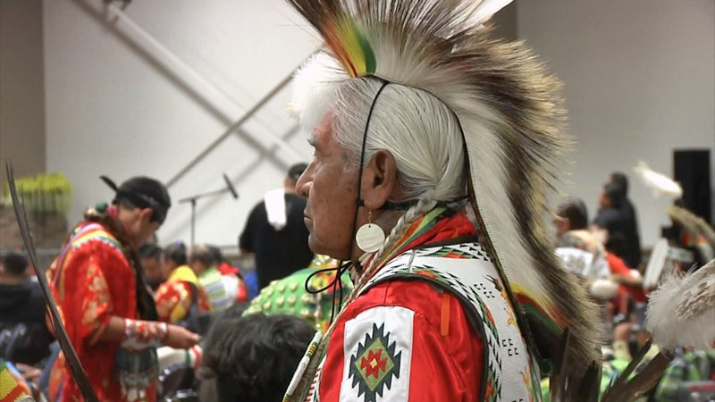 One of the participants in the 2019 Choctaw Pow Wow. (KTEN)