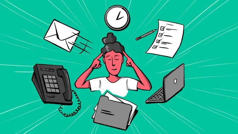 Everyday distractions can get in the way of the important things, but with some discipline and planning you can stay focused and productive. (Max Pepper/CNN)
