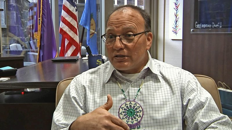 """""""I spent the night at our casino,"""" Choctaw Nation Chief Batton said.""""I wanted to make sure that everyone understood that we were going to be business as normal.""""  (KTEN)"""