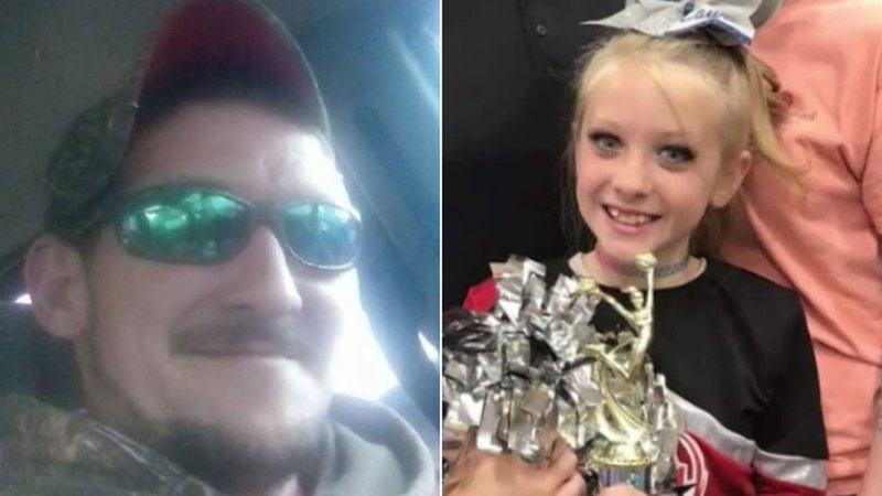 Kim Drawdy, 30, and his 9-year-old daughter, Lauren, were shot by hunters after being mistaken for deer in Walterboro, South Carolina. (WCBD via CNN)