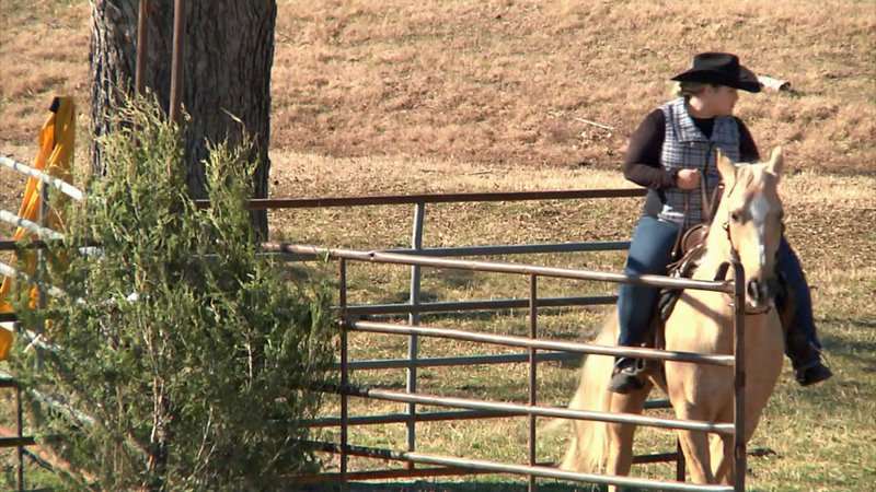 Training and competition are part of the Ranch Horse Buckle Series. (KTEN)
