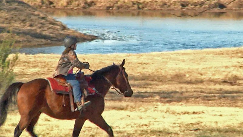 Riders of all ages are welcome at the Ranch Horse Buckle Series. (KTEN)