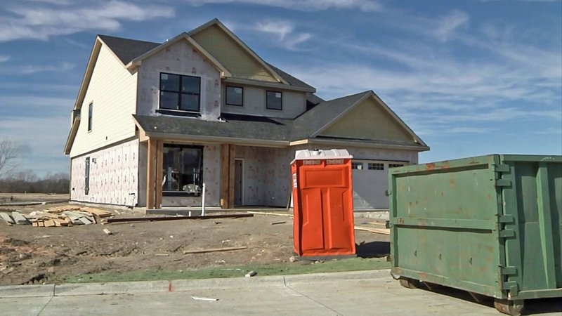 The Quail Run subdivision in Sherman. (KTEN)