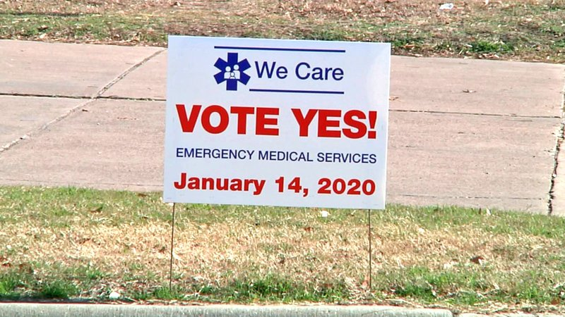 Carter County voters are being asked to vote on a property tax increase to fund ambulance service. (KTEN)