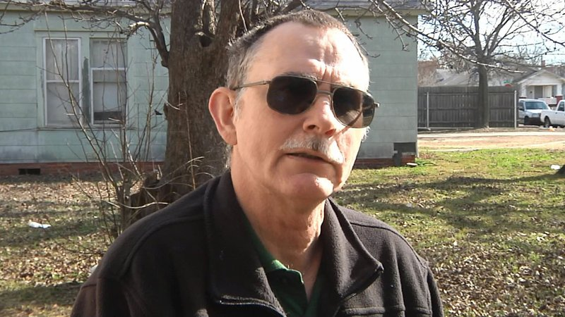 Timothy Brake said his Ardmore home was riddled by gunfire on January 7, 2020. (KTEN)