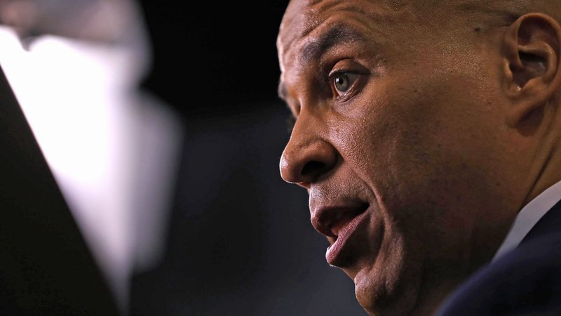 Sen. Cory Booker announced that he will end his campaign after failing to qualify for the Democratic debate in Iowa. (Maddie McGarvey for CNN)