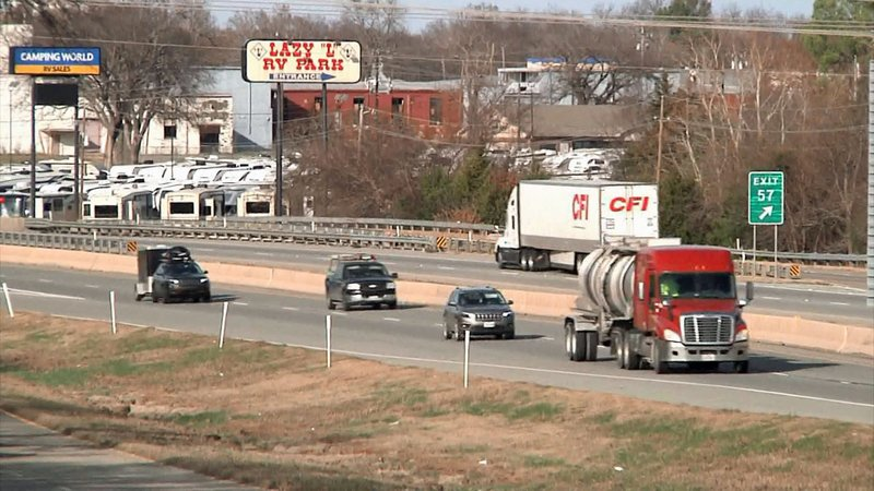 Work will soon begin to widen a section of US 75 from four to six lanes in Sherman. (KTEN)