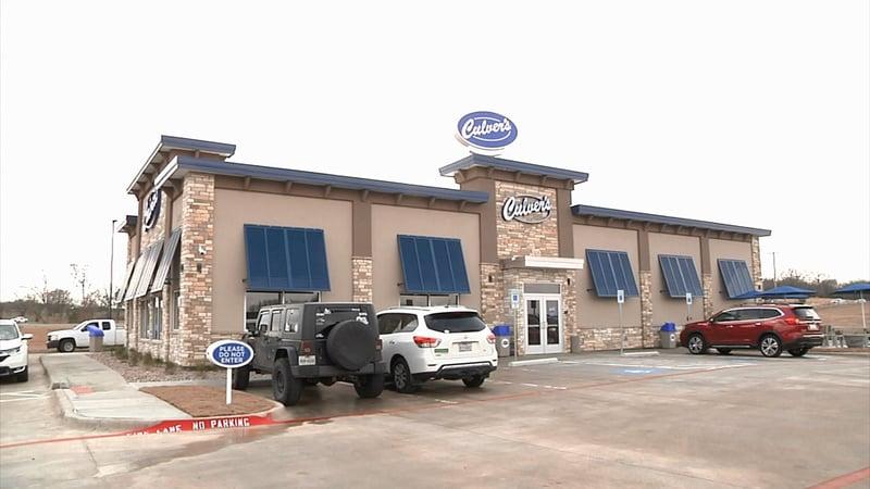 Culver's opened in Denison's Gateway Village on January 13, 2020. (KTEN)
