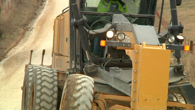Marshall County motorists are urged to drive safely in construction zones. (KTEN)