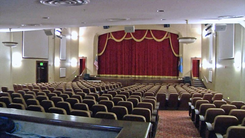 Ada's McSwain Theatre is celebrating its centennial. (KTEN)