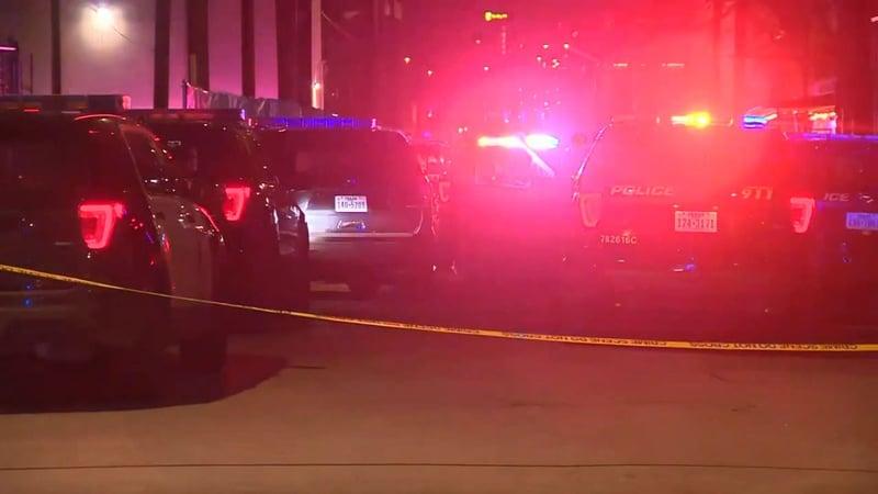 Two people were killed when gunfire broke out at a club on San Antonio's Riverwalk. (KSAT via CNN)