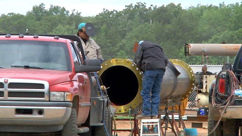 The Johnston County Industrial Park is looking for continued growth. (KTEN)