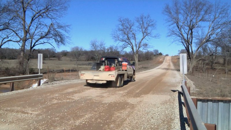 Carter County officials say the new Dillard Road bridge is wider and safer than the one it replaced. (KTEN)